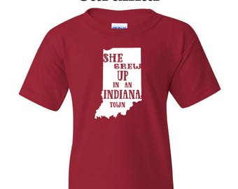 She grew up in an Indiana town. Youth tee inspired by Tom Petty/Tom Petty/Tom Petty shirt/Tom Petty tee/Indiana tee/Tom Petty lyrics/Music