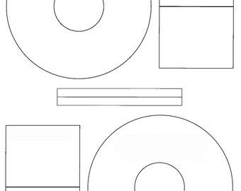 Avery CD Stomper CDDVD Labels A Sheets Labels From - Avery cd label template