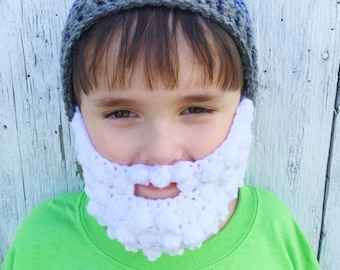 Baby Beard Hat Toddler Beard Hat Children's Beard Hat Men's Beard Hat Custom Beard Hat Crochet Beard Hat