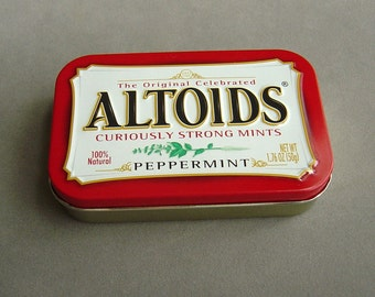 Altoids Tins 5 Large Containers