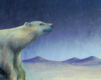 Dusk Bear Holiday Card
