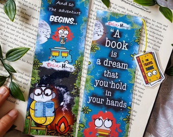 Dream Book Quotes  bookmark handmade