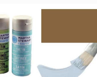 Brown multi-surface acrylic paint