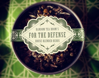 For the Defense Loose Leaf Herbal Blend: 3 oz tin (86% Organic)