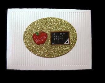 Teacher Gift Card Holder Envelope, Money Holder, Gift Card Holder