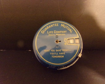 Vintage Guarantee Mutual Life Company  Metal bank