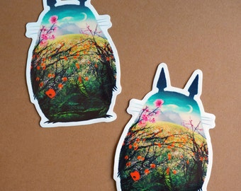 Tonari No Totoro - 2 sticker pack!