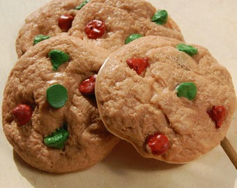 Chocolate Chip Cookie Soap, Christmas Cookie Soap, Christmas Soap, Gift for Kids, Food Soap, Dessert Soap, Homemade Soap, Stocking Stuffer