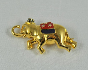 Monet political pin, Republican pin