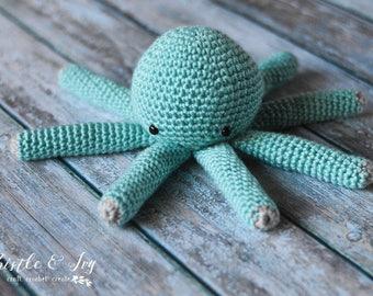 CROCHET PATTERN: Small Octopus Plushy Crochet Pattern pdf DOWNLOAD