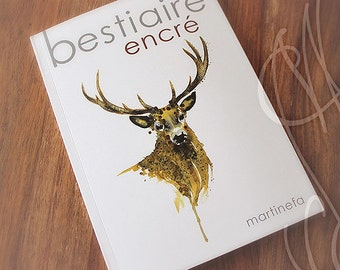 "Book Martinefa ""Bestiaire encré"""