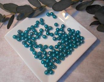 Turquoise 8mm acrylic beads