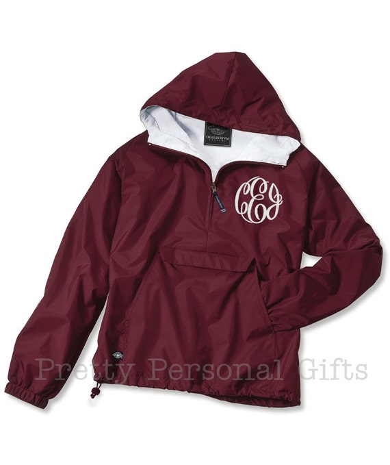 Monogrammed windbreaker jacket KCQG1