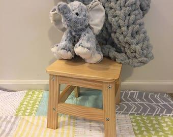 Chunky Knit Car Seat Baby Blanket