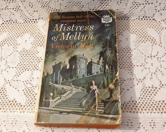 Vintage Book Mistress of Mellyn by Victoria Holt