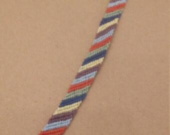 Red Stripe Bracelet
