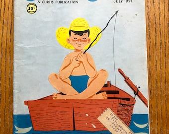 Vintage July 1957 Jack and Jill Magazine