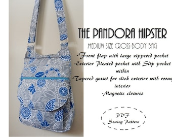 Pandora Hipster: DIGITAL Sewing Pattern