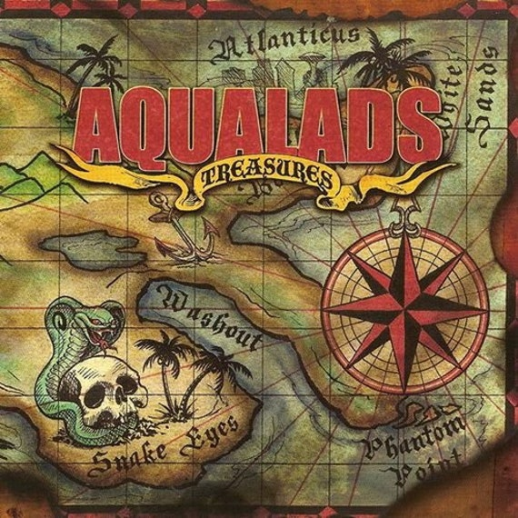 "Aquialads ""Treasures"" (CD)"