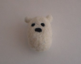 Felted Polar Bear and Bunny Buddies