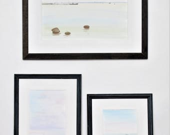 Silence, set of 3 paintings