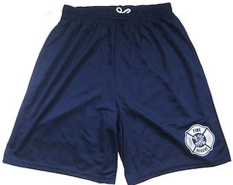 Fire Rescue Maltese Cross Shorts SKU: SHRT-0001