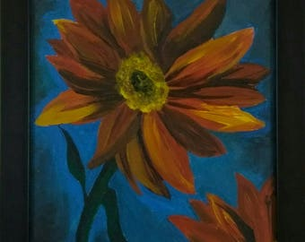 A Beautiful Flower by Artist Ravneet Kaur