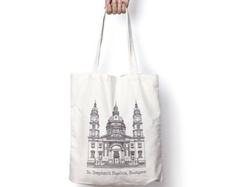 St. Stephen's Basilica, Budapest tote bag