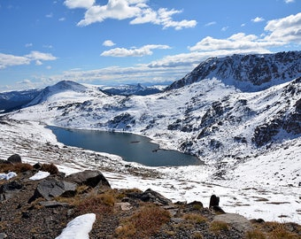 Mountain Lake-Beartooth Mountain Range
