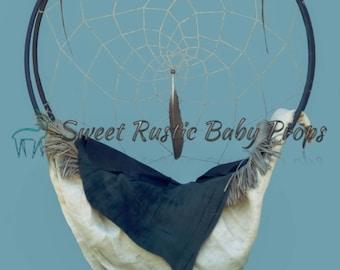 Native American Dream Catcher; Digital Backdrop, Child Photography Prop