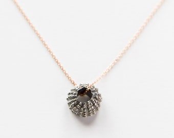 Gold Filled Blackened Uni Necklace