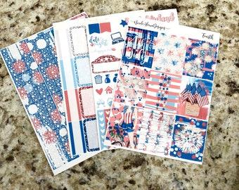 PRESALE FOIL Fourth Mini Kit, planner stickers