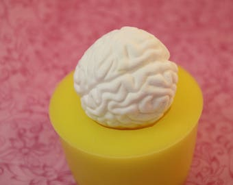 Silicone Brain Mold, Chocolate Mold, Soap Brain Mold, Resin Brains Moulds, Halloween DIY,