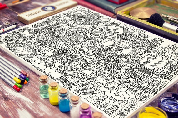 COLORING POSTERS - DURIDO
