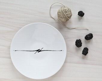 """Plate """"Black ink"""""""