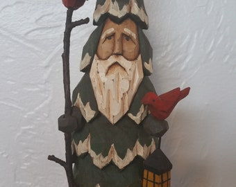 Small Forest Sentinel Santa