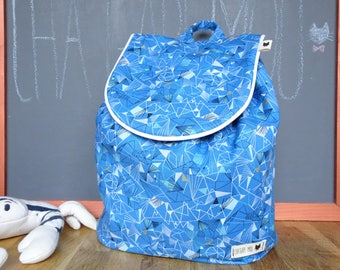 Backpack child customizable pattern whale