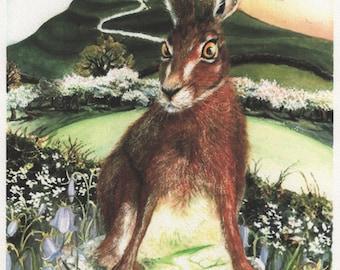 The Glastonbury Hare