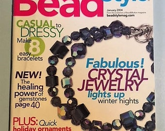 Bead Style Magazine - January 2004