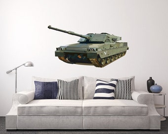 Man Cave With Tank : Main battle tank etsy