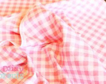 Sew 2 Gingham Pink- Riley Blake Designs - 1/2 Yard