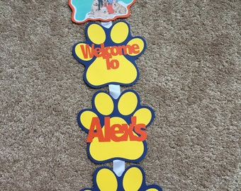 Mutt and Stuff Door Sign