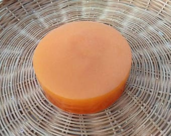 Creamsicle Soap, Detergent Free Soap, Phthalate Free Soap, Orange Soap, Palm Oil Free Soap, Honey Soap, Fruit scented soap, Glycerin Soap