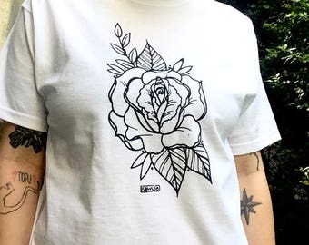 "shirt ""vulva rose"""