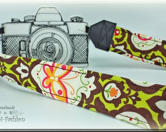 Camera strap, DSLR, camerastrap, retro brown