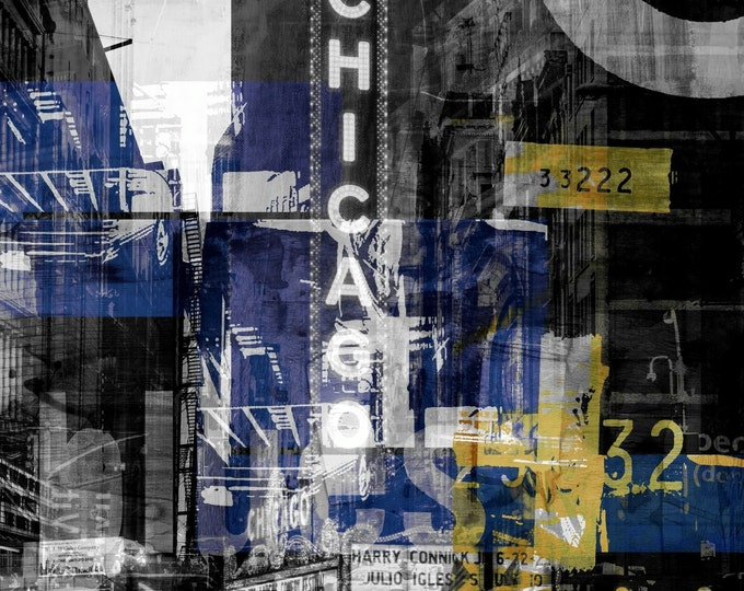 CHICAGO V by Sven Pfrommer - Artwork is ready to hang