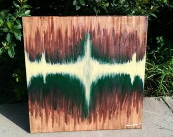 24x24 Original Acrylic Abstract Painting