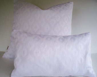 White Pillow Cover Solid White Pillow White Matelasse Pillow White Pillow Cover 0