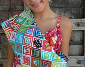 READY TO SHIP-Just Like Mommy Baby Doll Sling-kaleidoscope-Free Shipping When Purchased With A Wrap