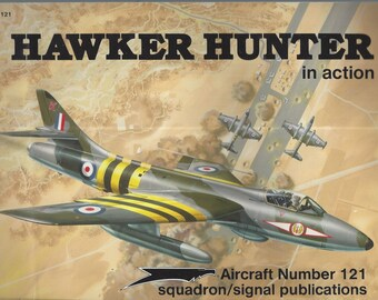 Hawker Hunter in Action - Aircraft No. 121 (Paperback)